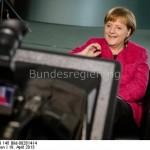 Happy Birthday Mrs. President Angela Merkel und David Hasselhoff