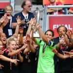 Fußball-Frauen EM-Titel 2013