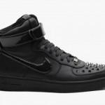 Die coolsten Sneaker, Sommer 2013 – Nike Air Force 1 Downtown Hi Spike Black (+english version)
