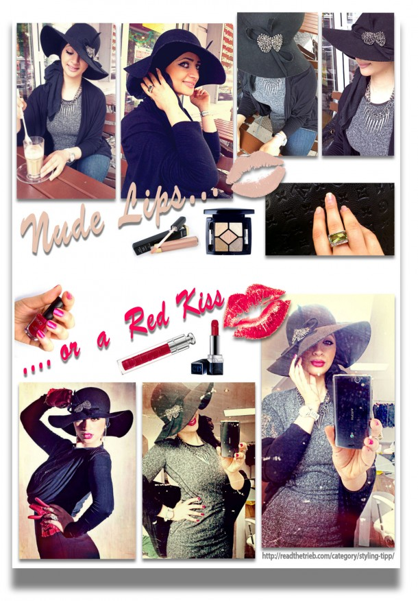 Styling Tipp Fashion und Beauty 2013 – Nude Lips or A Red Kiss (+english version)