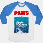 """Die trashigsten und lustigsten Shirts, Pullover Sommer 2013 –  American Apparel """"PAWS"""" (+english version)"""
