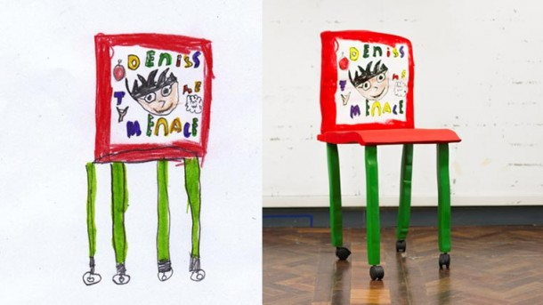 Möbelstücke von Kinderhand